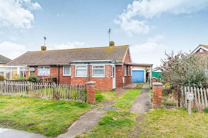 2 Bedrooms Semi Detached Bungalow for sale in Essex Avenue, Herne Bay, CT6