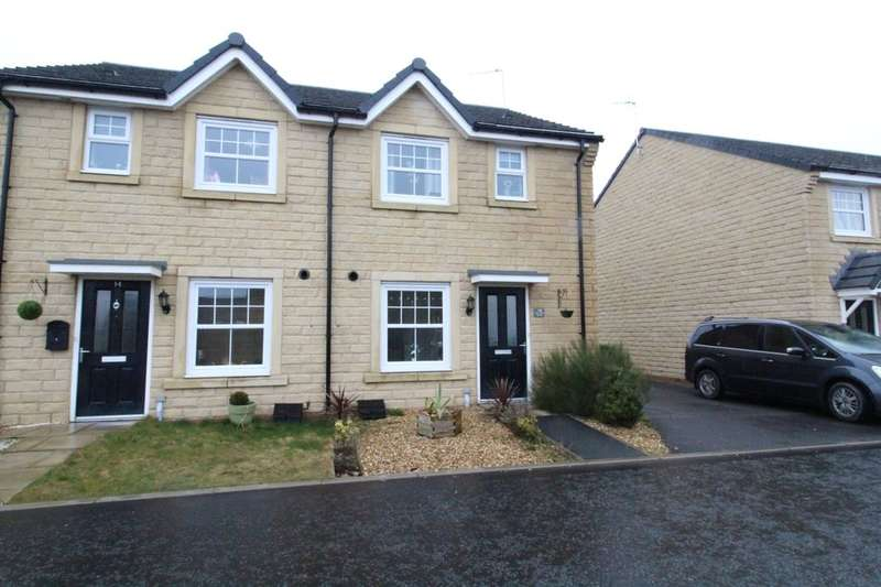 3 Bedrooms Semi Detached House for sale in Shoemaker Gardens, Rossendale, BB4