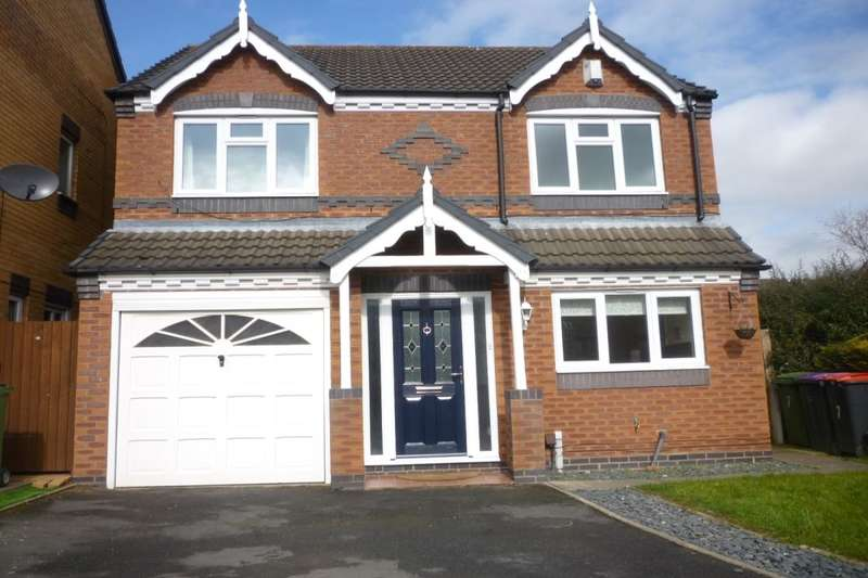 4 Bedrooms Detached House for sale in Lhen Close, Muxton, Telford, TF2