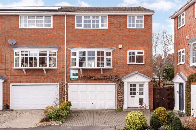 4 Bedrooms End Of Terrace House for sale in Baronsmead, Henley-on-Thames, Oxfordshire, RG9
