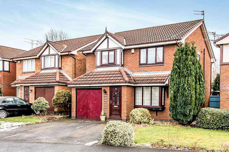 4 Bedrooms Detached House for sale in Tytherington Drive, Reddish, Manchester, M19