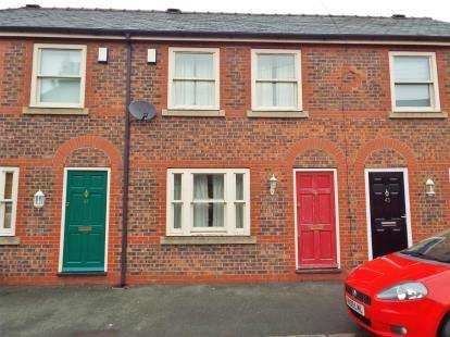 2 Bedrooms Terraced House for sale in Mitchell Street, Stockton Heath, Warrington, Cheshire