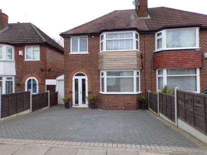 3 Bedrooms Semi Detached House for sale in Green Acres Road, Kings Norton, Birmingham, West Midlands