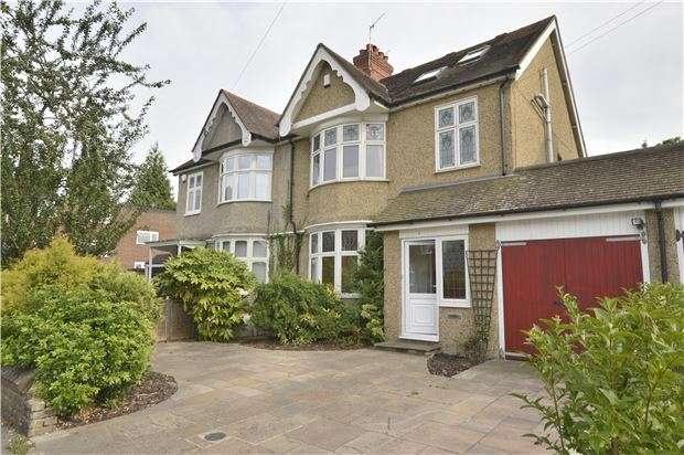 4 Bedrooms Semi Detached House for sale in Ringwood Avenue, REDHILL, RH1 2DX