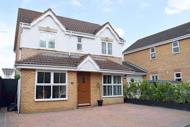 4 Bedrooms Detached House for sale in Challinor, Church Langley, Harlow, Essex, CM17 9XA