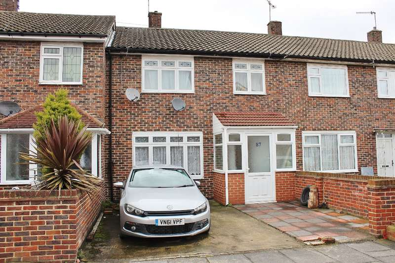 3 Bedrooms Terraced House for sale in Edington Road, Abbeywood, London, SE2 9JX