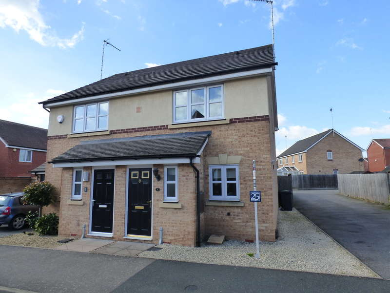 2 Bedrooms Semi Detached House for sale in Swan Meadow, Warwick, Warwickshire