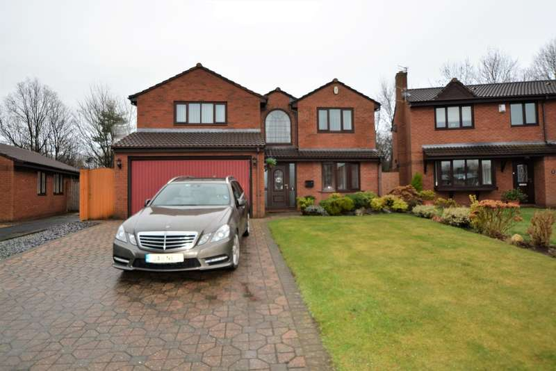4 Bedrooms Detached House for rent in Cartier Close, Old Hall, Warrington
