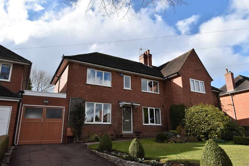 3 Bedrooms Semi Detached House for sale in Woodlands Park Road, Bournville, Birmingham, B30