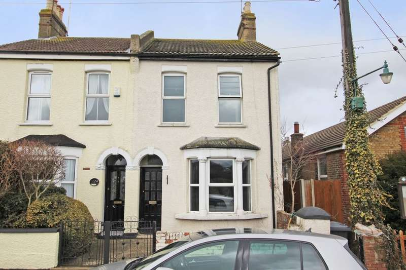 2 Bedrooms Semi Detached House for sale in Shirehall Road, Dartford, DA2