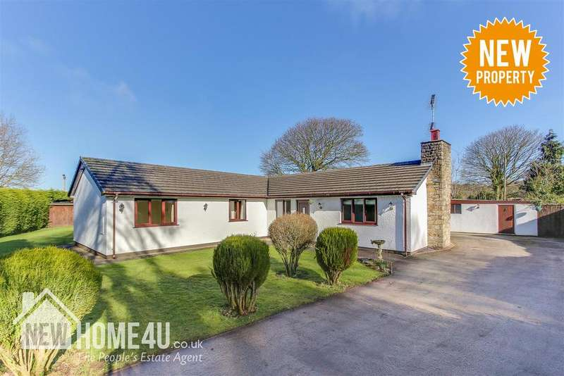 3 Bedrooms Detached Bungalow for sale in Naid Y March, Holywell