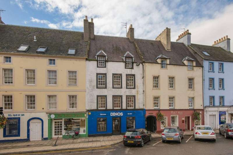 2 Bedrooms Flat for sale in 16/3 High Street, Haddington, East Lothian, EH41 3ES