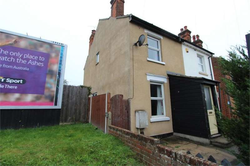 2 Bedrooms Semi Detached House for sale in Mersea Road, COLCHESTER, Essex
