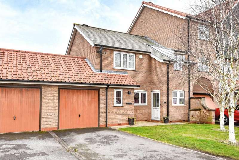 3 Bedrooms End Of Terrace House for sale in Park Lane, Burton Waters, LN1