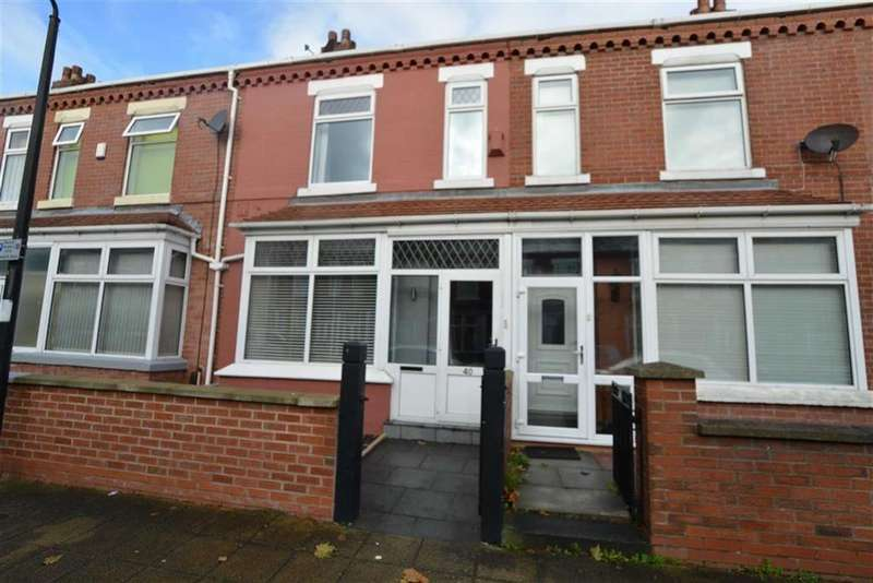 3 Bedrooms Terraced House for sale in Harcourt Street, STRETFORD