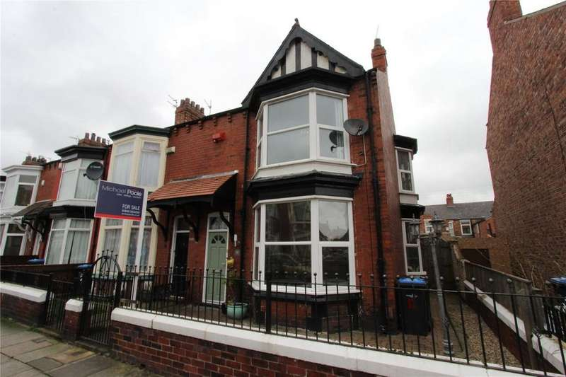 3 Bedrooms End Of Terrace House for sale in Queen's Road, Linthorpe