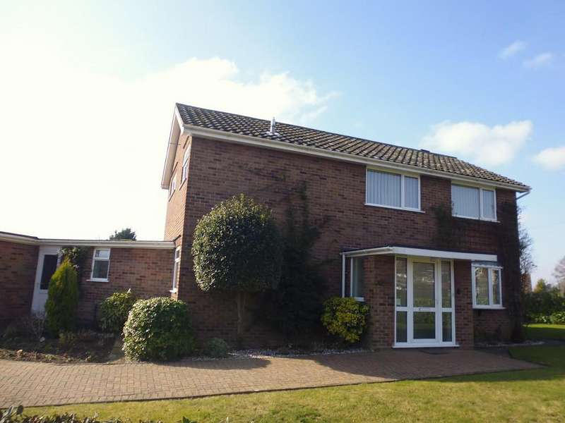 4 Bedrooms Detached House for sale in Danescourt Avenue, Stowmarket
