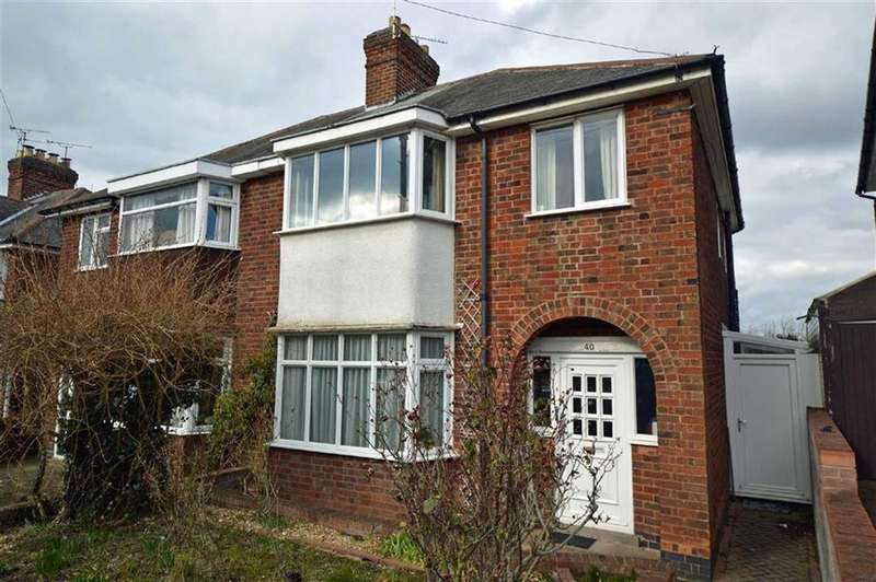 3 Bedrooms Semi Detached House for sale in Homeway Road, Evington