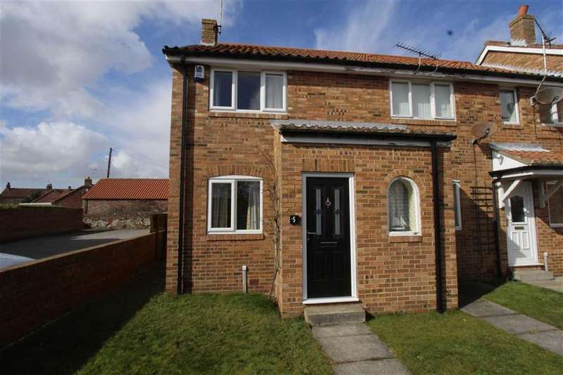 2 Bedrooms End Of Terrace House for sale in Southmere Cottages, Flamborough, East Yorkshire, YO15