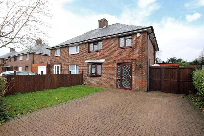 3 Bedrooms Semi Detached House for sale in Halsey Road, Kempston, Bedford