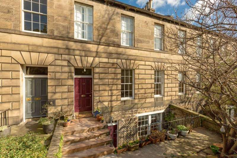 4 Bedrooms Ground Maisonette Flat for sale in 10 Howard Place, Edinburgh, EH3 5JZ