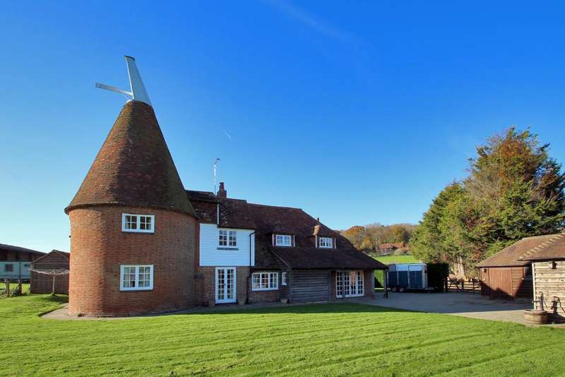 6 Bedrooms Detached House for sale in Dumbourne Lane, Smallhythe, Tenterden, Kent, TN30 7ND