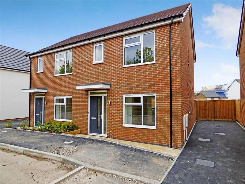 2 Bedrooms Semi Detached House for rent in Sampson Bridgwood Close, Trentham Manor