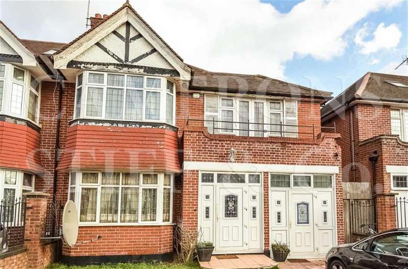 4 Bedrooms Semi Detached House for sale in Dicey Avenue, Cricklewood, London, NW2