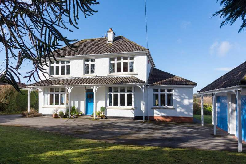 5 Bedrooms Detached House for sale in Superb rural spot in Wraxall