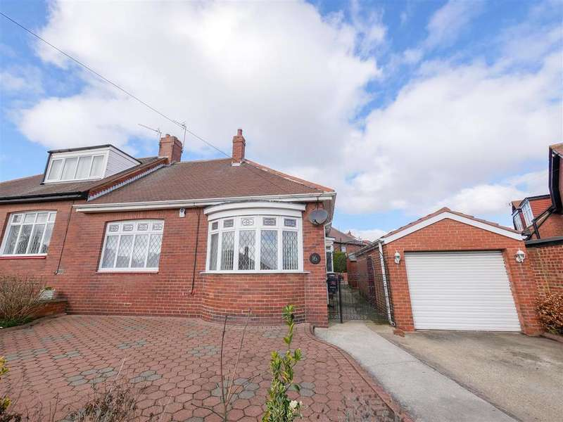 2 Bedrooms Semi Detached Bungalow for rent in Charlton Road, Fulwell, Sunderland
