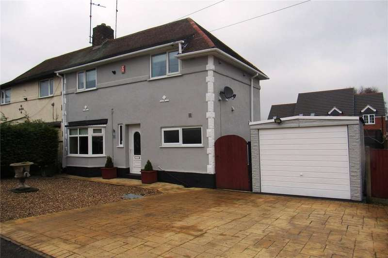 3 Bedrooms Semi Detached House for sale in Middleton Road, Mansfield Woodhouse, Nottinghamshire, NG19