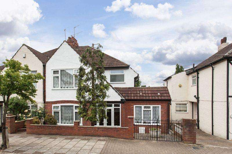 4 Bedrooms Semi Detached House for sale in Sandringham Road, Bromley