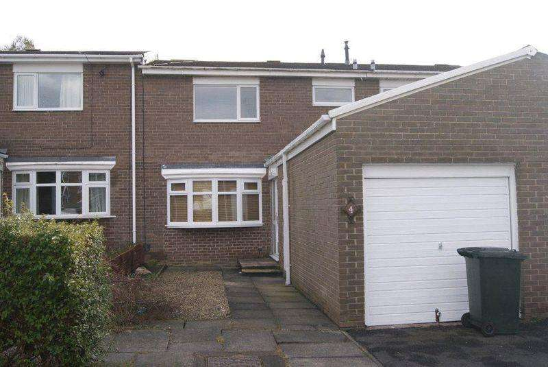 3 Bedrooms Terraced House for sale in Rothley Court, Killingworth