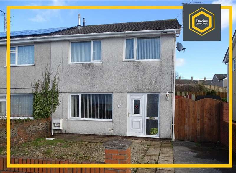 3 Bedrooms Semi Detached House for sale in Ridgewood Park, Llanelli, SA15