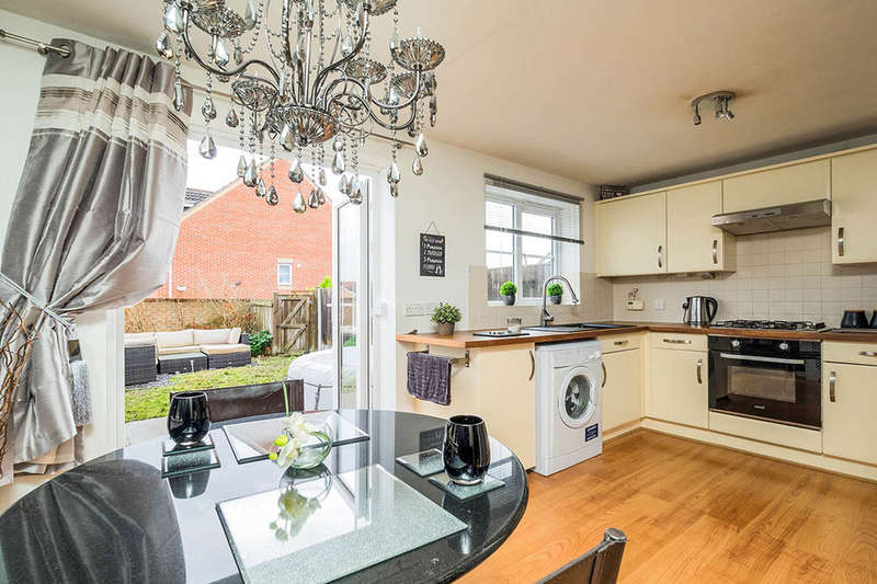 3 Bedrooms Semi Detached House for sale in Bella Close, Langley Mill, Nottingham, NG16