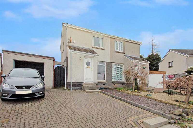 2 Bedrooms Semi-detached Villa House for sale in Menteith Drive, Dunfermline