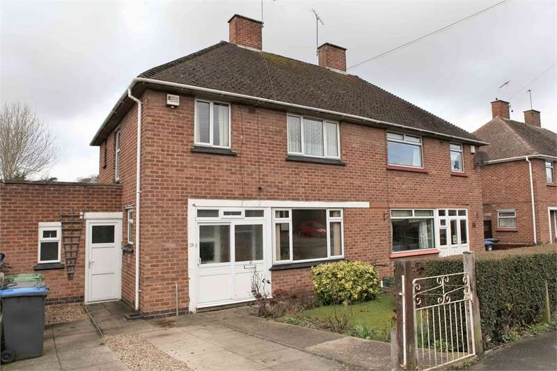 3 Bedrooms Semi Detached House for sale in Lytham Road, RUGBY, Warwickshire