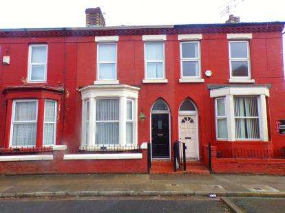 4 Bedrooms Terraced House for sale in Southbank Road, Edge Hill, Liverpool, Merseyside, L7
