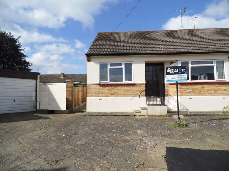 2 Bedrooms Semi Detached Bungalow for sale in Winbrook Close, Rayleigh