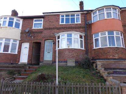 3 Bedrooms Terraced House for sale in Wiltshire Road, Stadium Estate, Leicester, Leicestershire