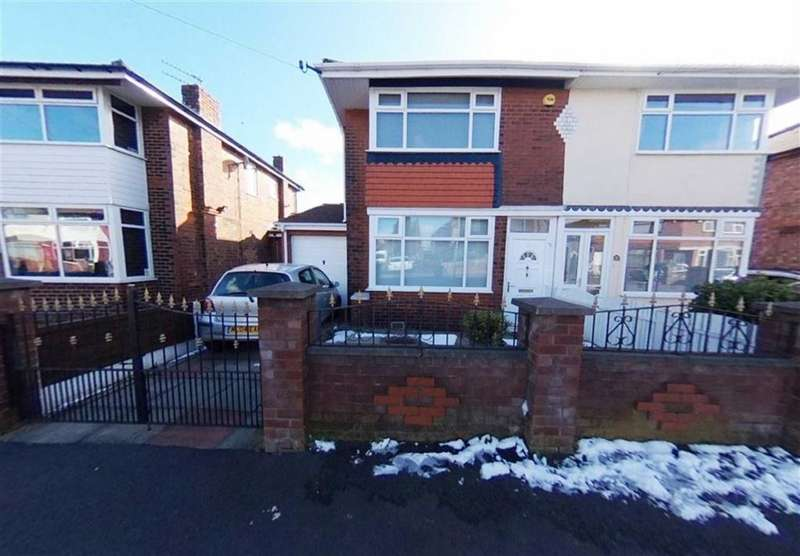 2 Bedrooms Semi Detached House for sale in Eastwood Avenue, Droylsden, Manchester