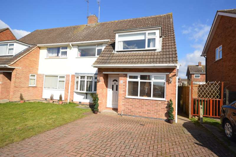 3 Bedrooms Semi Detached House for sale in Sycamore Way, Littlethorpe, Leicester, LE19 2HT