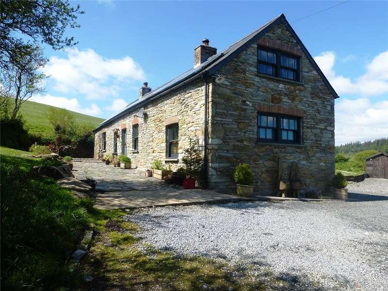 4 Bedrooms Detached House for sale in Mynydd Bach, Rhosfach, Clynderwen, Pembrokeshire
