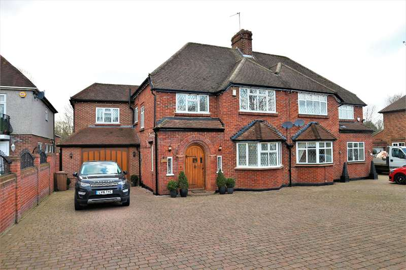 5 Bedrooms Semi Detached House for sale in Danson Road, South Bexleyheath, Kent, DA6 8HB