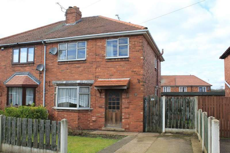 3 Bedrooms Semi Detached House for sale in 23, Harlesthorpe Avenue, Clowne