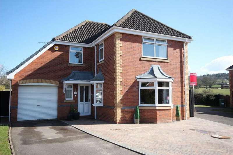 4 Bedrooms Detached House for sale in Millers View, Cheadle, STOKE-ON-TRENT, Staffordshire