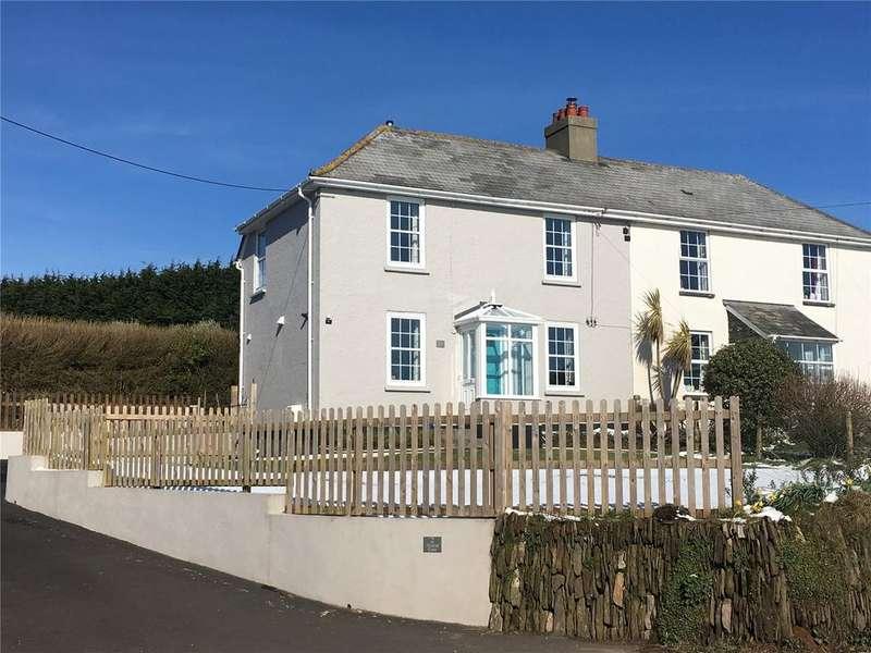 3 Bedrooms Semi Detached House for sale in Alston Gate, Malborough, Kingsbridge, TQ7