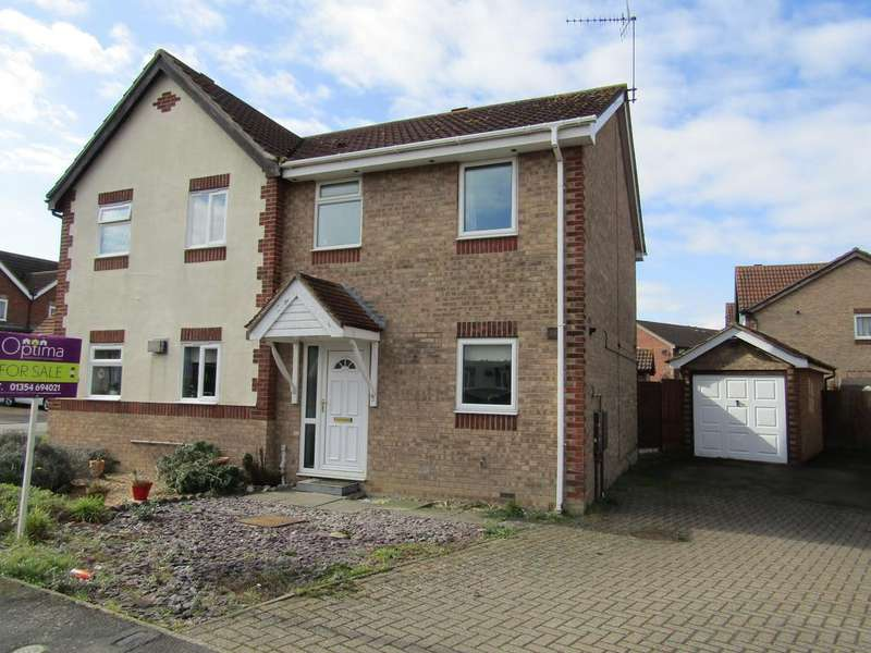 3 Bedrooms Semi Detached House for sale in Drake Avenue, Chatteris PE16