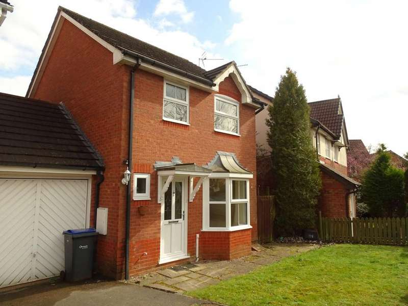 3 Bedrooms Detached House for rent in Epsom Close, Chippenham, Wiltshire