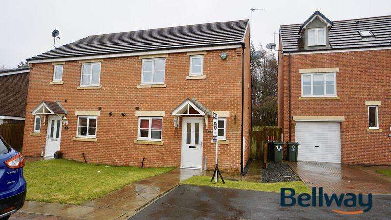 3 Bedrooms Semi Detached House for sale in Mead Court Forest Hall